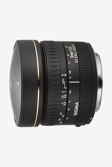 Sigma 8mm F/3.5 EX DG Fisheye Circular Lens for Canon