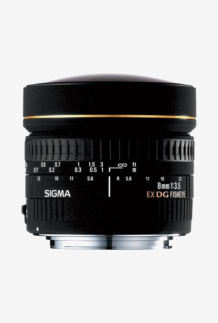 Sigma 8mm F/3.5 EX DG Fisheye Circular Lens for Nikon