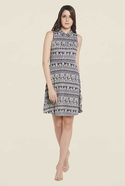 Globus Navy A Line Dress