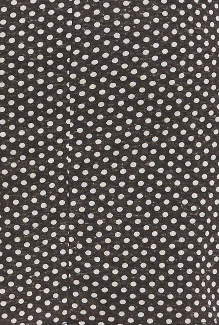 Globus Black Polka Dot Dress