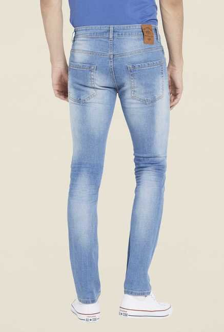 Globus Blue Light Wash Skinny Fit Jeans