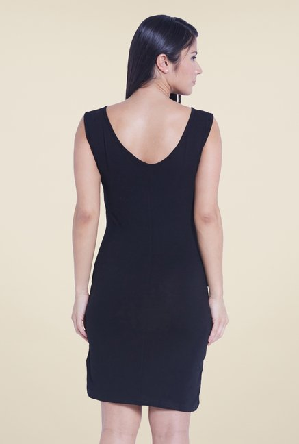 Globus Black Embellished Dress