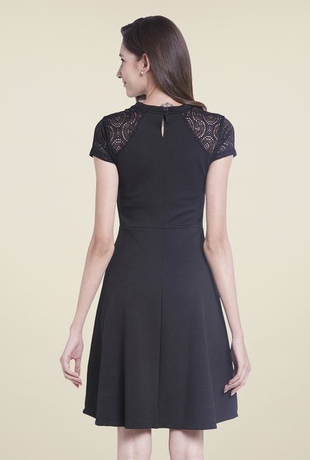 Globus Black Skater Dress
