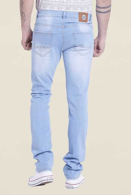 Globus Ice Blue Lightly Washed Denim Jeans