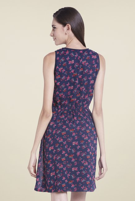 Globus Purple Floral Print Dress