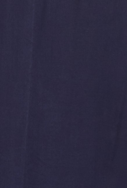 Globus Navy Solid Polyester Palazzos