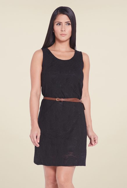 Globus Black Lace Dress