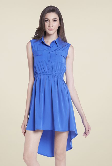 Globus Blue Shirt Dress