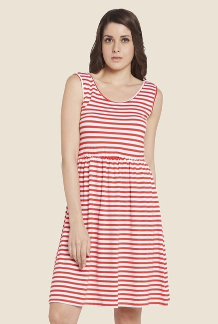 Globus Red Striped Dress