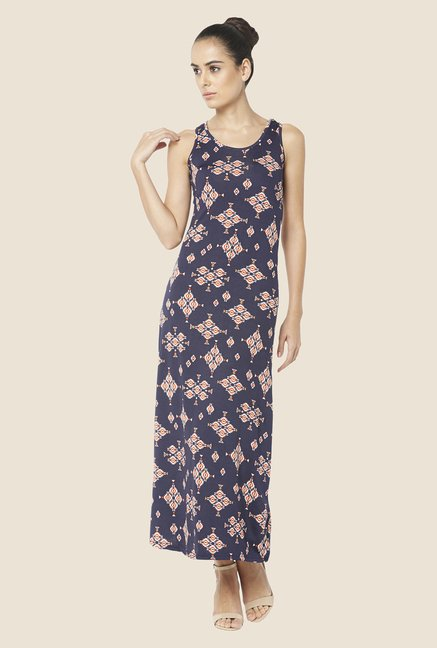 Globus Dark Blue Maxi Dress