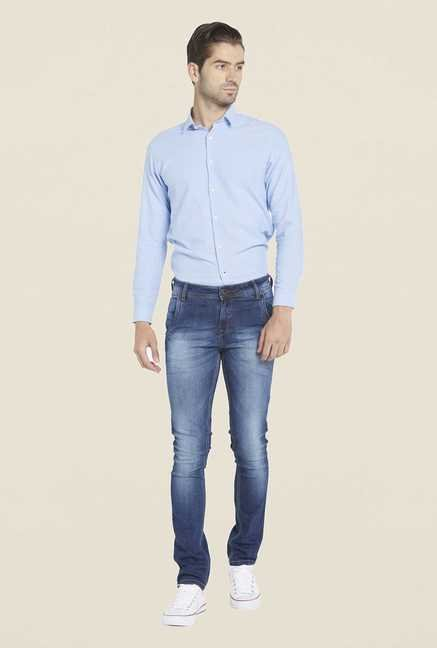 Globus Blue Washed Regular Denim Jeans