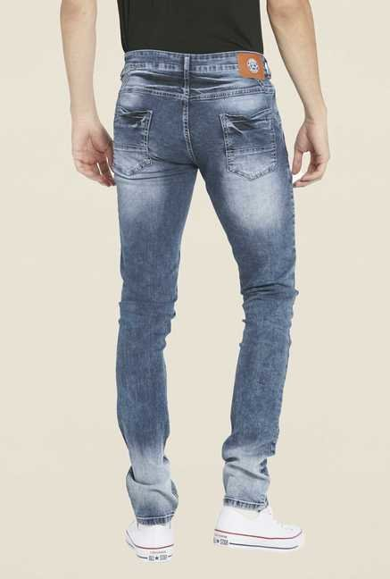 Globus Dark Blue Heavily Washed Jeans
