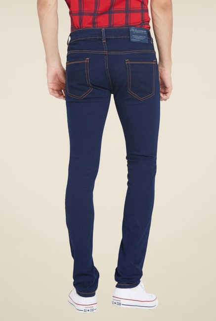 Globus Navy Raw Denim Jeans