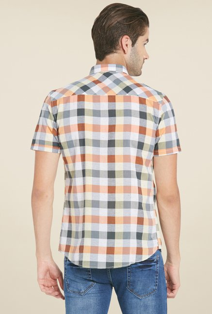 Globus Multicolor Checked Shirt