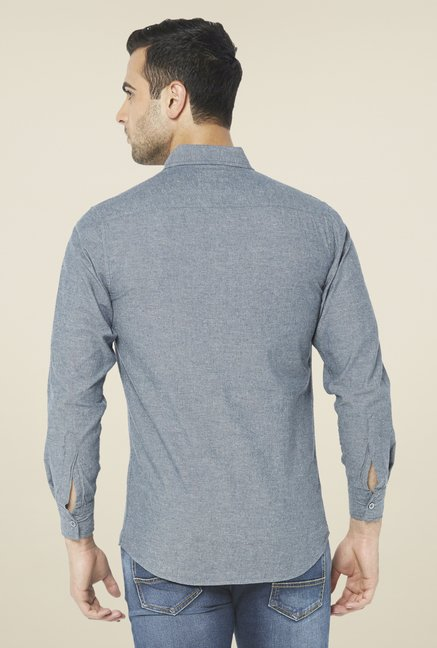 Globus Grey Solid Shirt