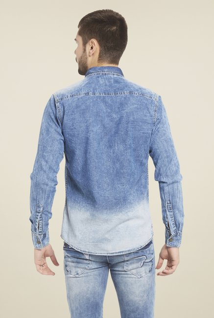 Globus Graded Blue Shirt
