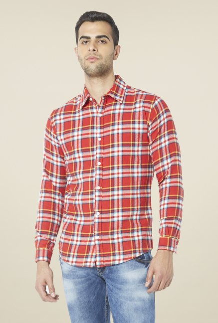 Globus Red Checked Shirt