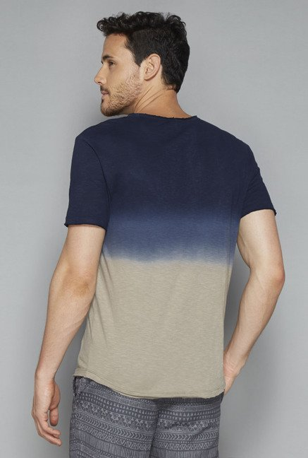 ETA by Westside Navy Ombre T Shirt