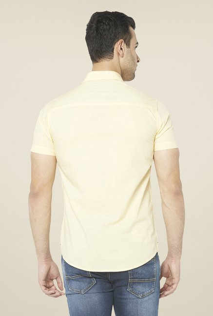 Globus Yellow Solid Shirt