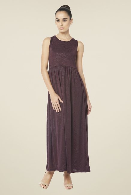 Globus Wine Maxi Dress