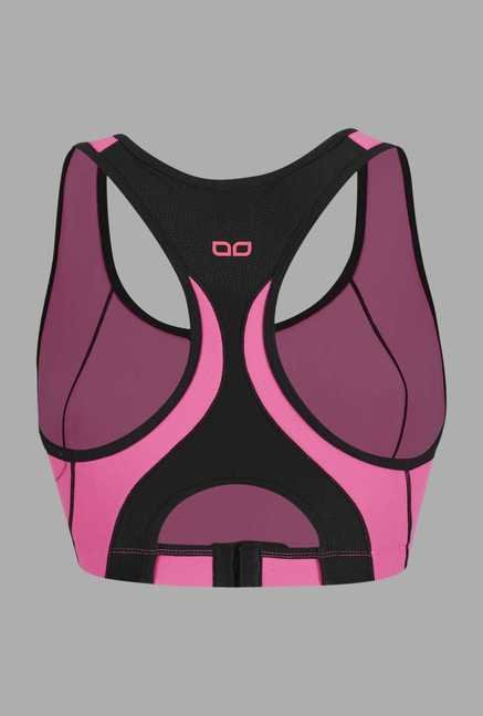 Doone Pink Solid Training Top