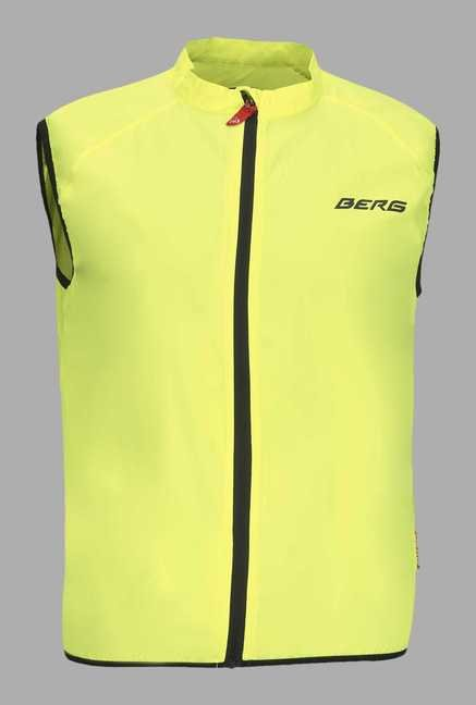Berg Green Solid Cycling Wind Jacket