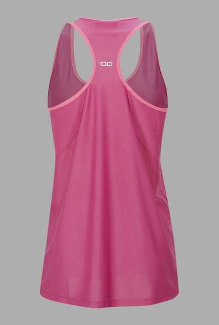 Doone Pink Solid Training Singlet