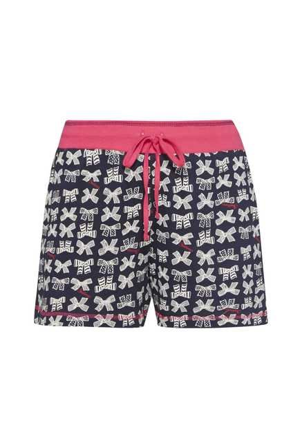 Intima by Westside Navy Printed Shorts
