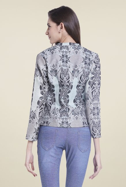 Globus Grey Printed Jacket
