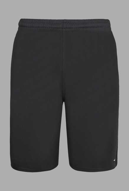 Team Quest Dark Grey Solid Football Shorts