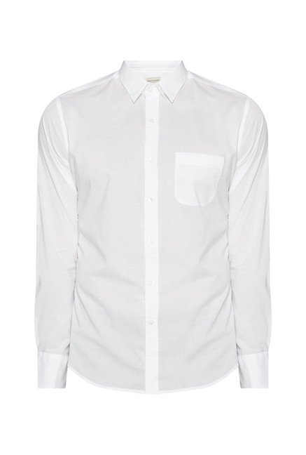 Westsport by Westside White Solid Shirt
