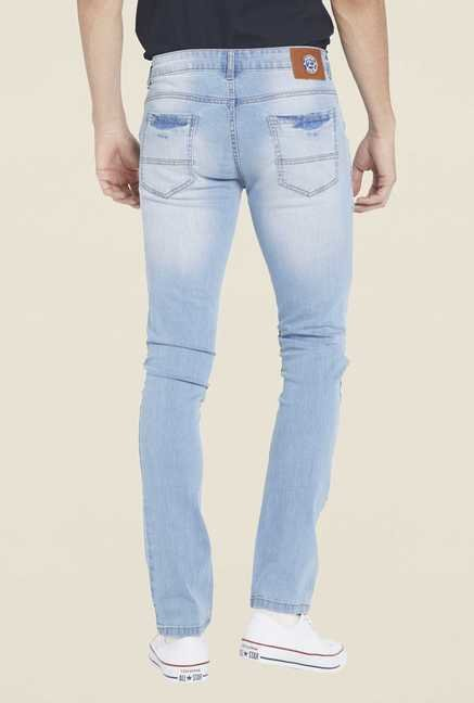 Globus Light Blue Tattered Jeans
