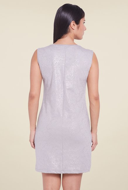 Globus Light Grey Shift Dress