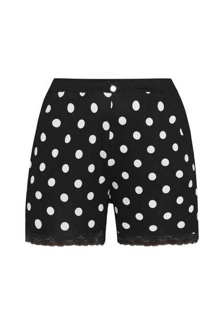Intima by Westside Black Polka Dot Shorts