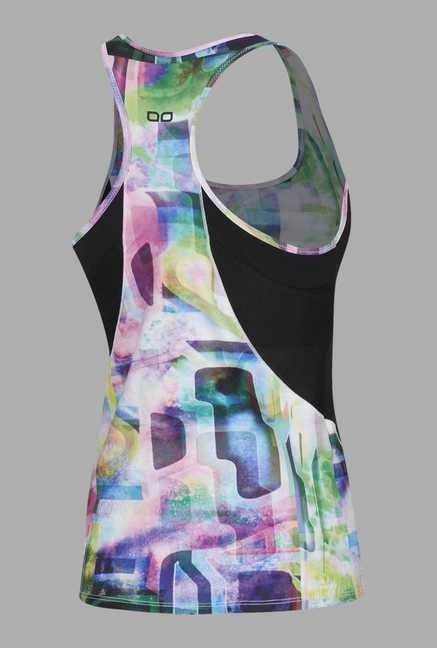 Doone Pink Printed Training Singlet