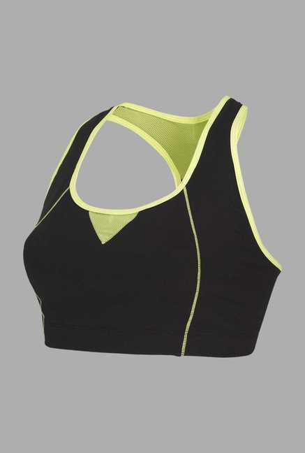 Doone Black Solid Training Top