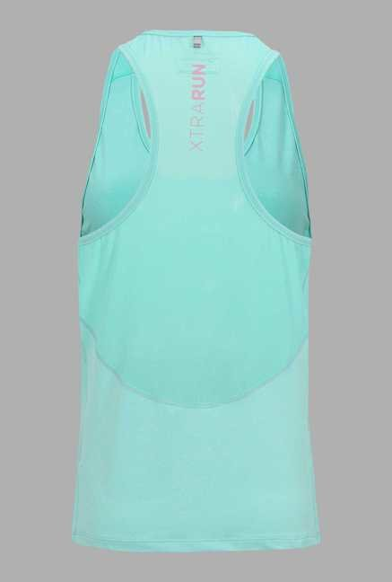 Outpace Light Blue Solid Running Singlet