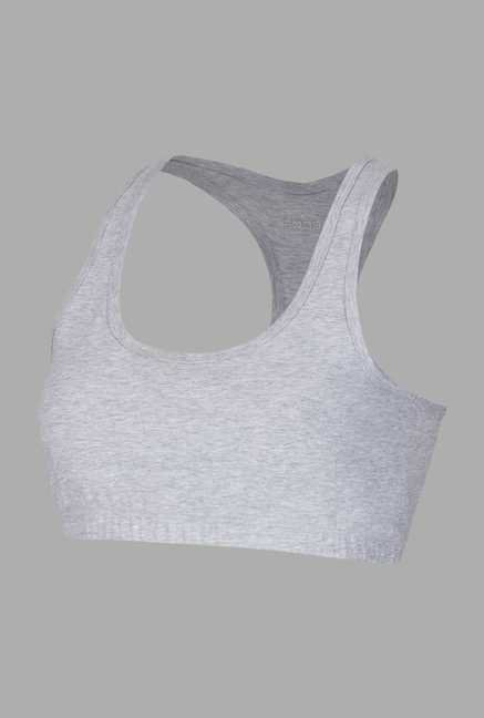 Doone Grey Solid Training Top