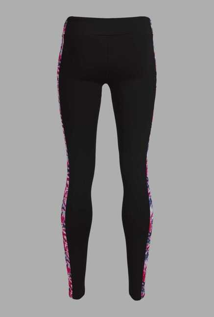 Doone Black Solid Training Pants