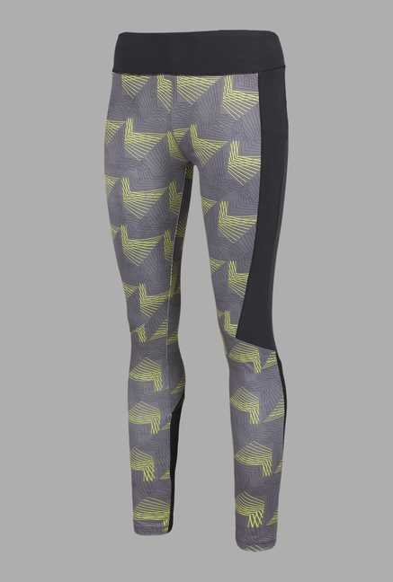 Doone Grey Printed Training Pants