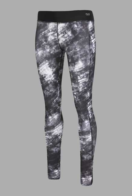 Doone Black Printed Training Pants