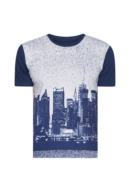 Nuon by Westside Navy Graphic Print T Shirt