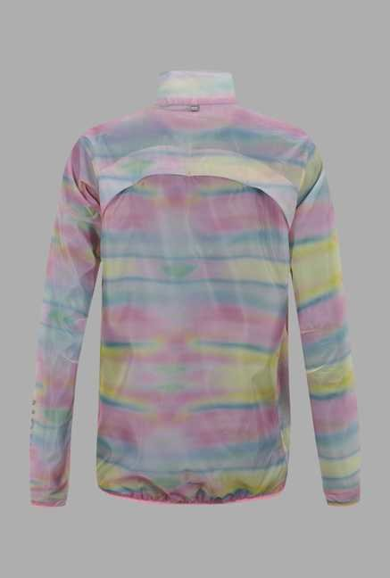 Outpace Multicolor Printed Running Jacket