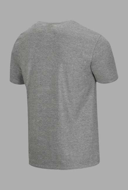 Doone Grey Graphic Print Training T Shirt