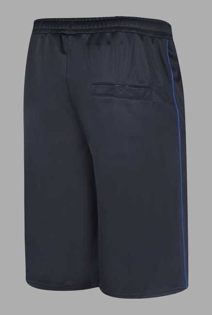 Doone Navy Solid Training Shorts