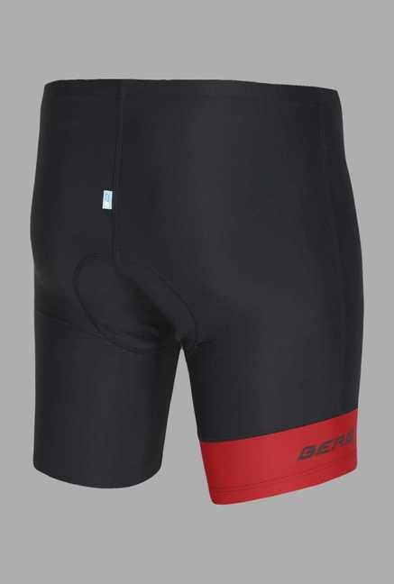Berg Black Solid Cycling Shorts