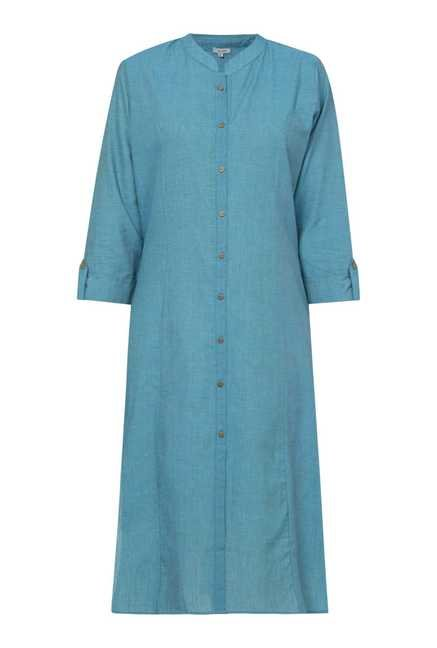 Zudio Royal Blue Solid Kurta