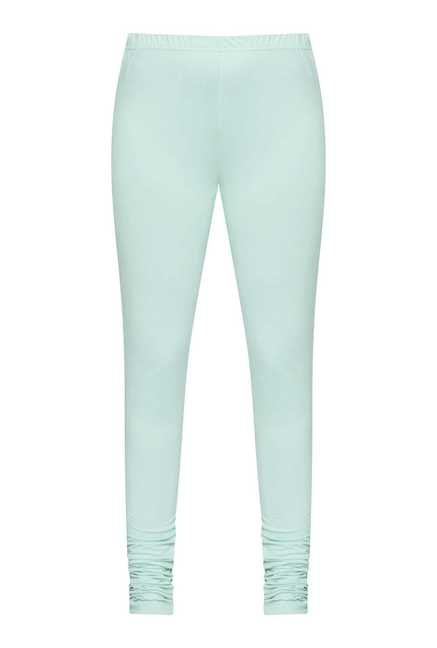 Zuba by Westside Green Skinny Fit Leggings