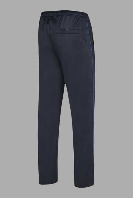 Doone Navy Solid Training Pants
