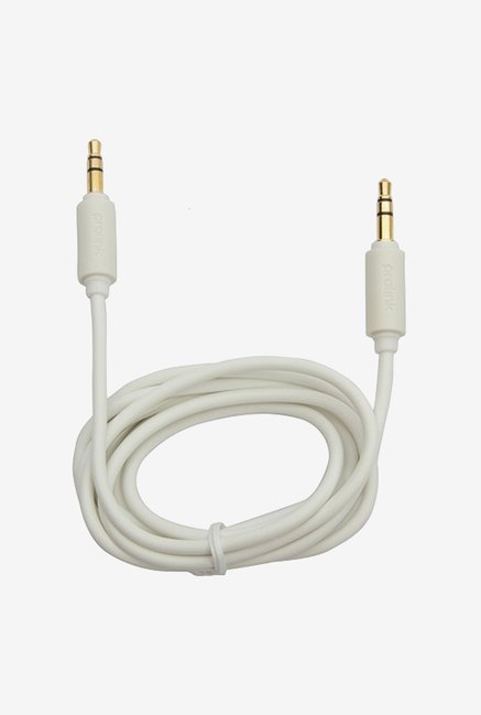 ULTRAPROLINK UL105WH-0150 1.5 m Audio Cable (White)